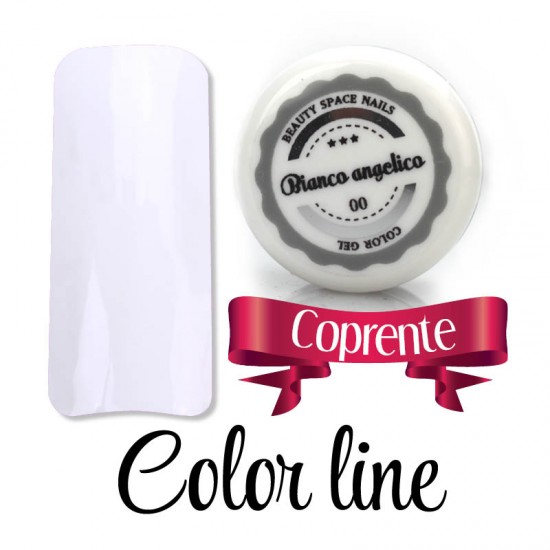 00 - Bianco angelico - dense - Colored Uv gel - Color line - 5ml