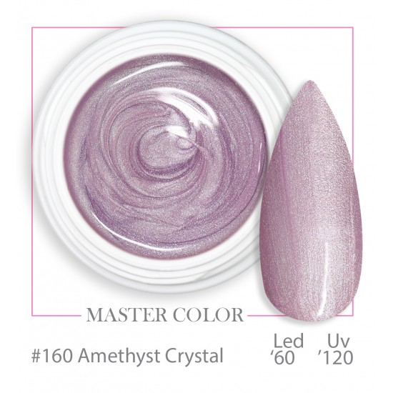 160 - Amethyst Crystal - Master Color - Gel color UV LED - 5ml