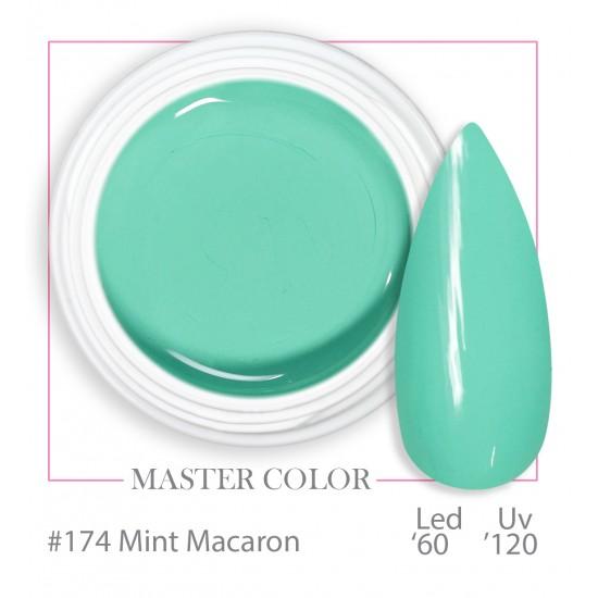 174 - Mint Macaron - Master Color - Gel color UV LED - 5ml