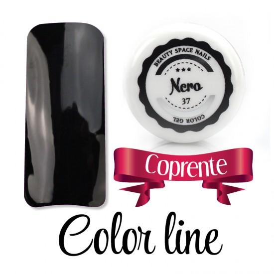 37 - Nero - dense - Colored Uv gel - Color line - 5ml