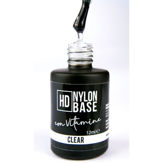 Hd Nylon Base Builder with Vitamin E and Calcium - Clear