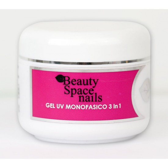 Monophasic Thick Clear gel 3 in 1 Trasparent High Density 50 ml