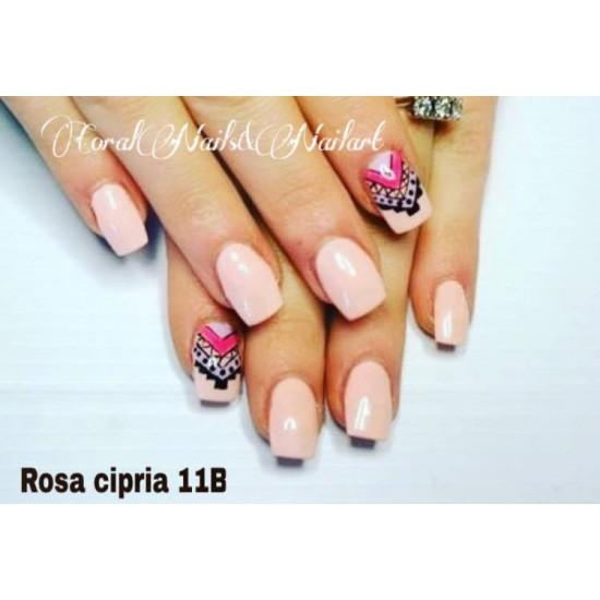 11B - Rosa cipria - dense - Colored Uv gel - Color line - 5ml