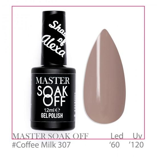 Coffee Milk 307 - Master Color Soak Off 12 ml