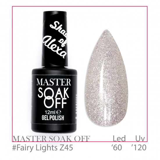 Fairy Lights Z45 - Master Color Soak Off 12 ml