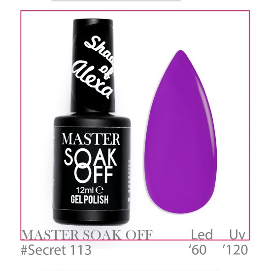 Secret - 113 Master Color Soak Off 12 ml