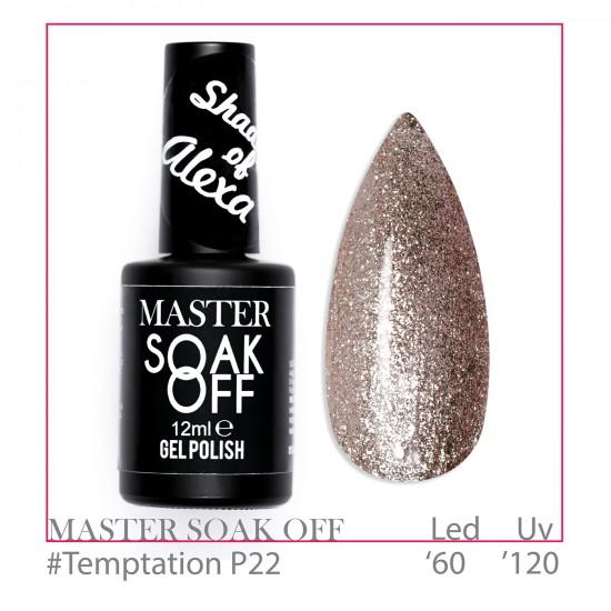 Temptation P22 - Master Color Soak Off 12 ml