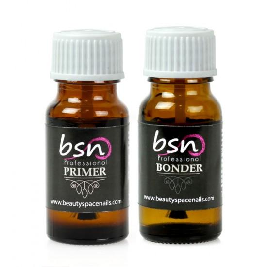Set 2 Prodotti - Primer e Bonder Bsn Professional - 10 ml